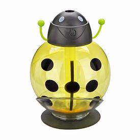 Зволожувач повітря у вигляді жучка. Жовтий