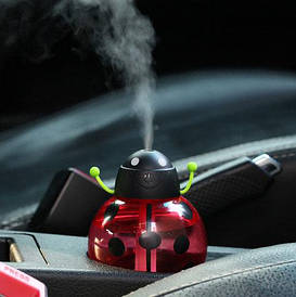 Зволожувач повітря у вигляді жучка. Червоний
