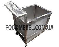 Тележка прачечная для мокрого белья из нержавеющей стали