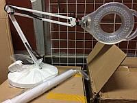 Лампа лупа светодиодная напольная (может быть настольная)., фото 1