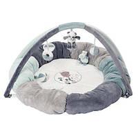 Nattou Развивающий коврик с дугами и подушками Лулу, Лея и Ипполит 963343