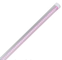 Фито LED светильник Т8 LEDMAX 600мм 9Вт 48led SMD2835 (красный/синий-4/2) 220V