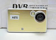Видеорегистратор автомобильный HD DVR 670 Full HD, фото 1