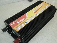 Преобразователь напряжения, инвертор 5000W inverter 12V-220V, преобразователь с 12в на 220в