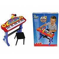 Клавишные-парта с микрофоном и стульчиком  Simba (683 8629)