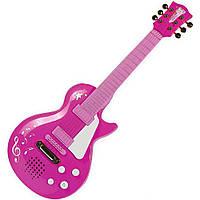 Электронная Рок-гитара Девичий стиль с  металлическими струнами 56 см Simba (683 0693)