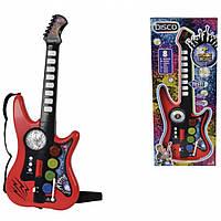 Музыкальный инструмент Диско Гитара 10  звуковых эффектов 66 см Simba (683 4102)