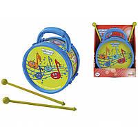 Барабан Веселые ноты 16 см Simba (683 4047)