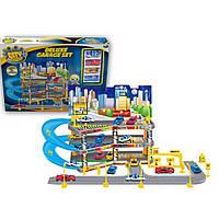 Игровой набор City Parking Парковка с подъемом  Dave Toy (32037)