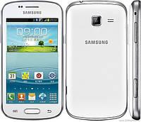 "Samsung Trend DUOS. 2SIM 4"" 3G RAM0.8GB ROM4GB 4mPix Белый. Чёрный. Бампер Стекло"