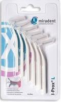 Межзубной интердентальный ершик Miradent I-Prox L, 0,6 mm белый 6шт