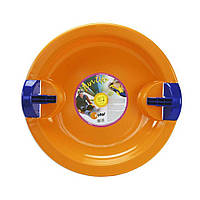 Санки-тарелка Fun Ufo Оранжевый KHW Kunststoff (76225)