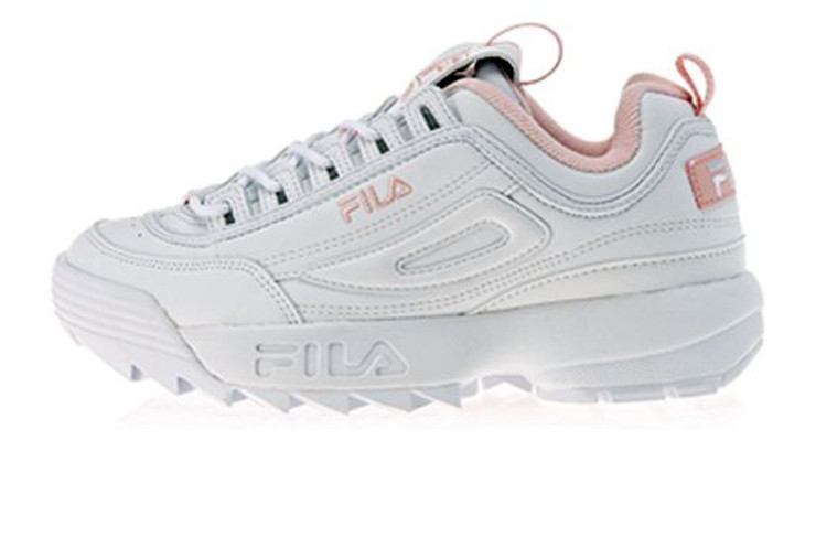 f522a3cb Женские кроссовки Fila Disruptor II White/Pink (Реплика ААА+) - Rocket Shoes