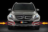 Накладка противотуманной фары хром Mercedes-Benz GLK X204 Новая Оригинальная