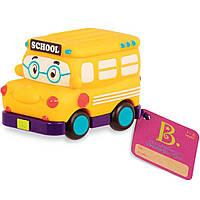 Машинка инерционная Забавный автопарк  Школьный автобус Battat (BX1495Z)