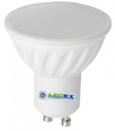 Лампа светодиодная LEDEX 3W, GU10, 285lm, 4000К, фото 2