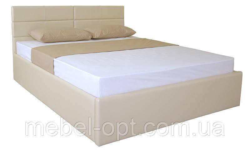 Кровать Laguna на подъемном механизме lift 1600x2000 beige