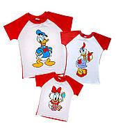 Комплект семейных футболок