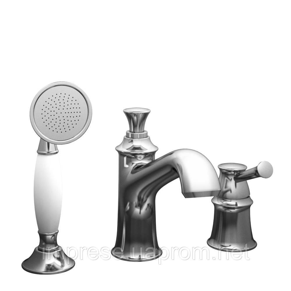Смеситель для ванны врезной на три отверстия Podzima Ledove ZMK01170105