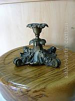 Старинный бронзовый подсвечник (Германия, 19 век), фото 1