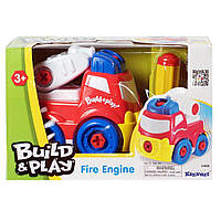 Конструктор Build & Play Пожарная машина Keenway  (K11935)