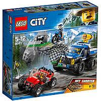 Конструктор Погоня на грунтовой дороге  297 деталей LEGO (60172)