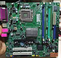 Плата S775 на DDR2 понимает 2 ЯДРА ПРОЦЫ INTEL до Core2DUO E7500 с ГАРАНТИЕЙ