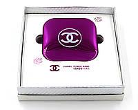 Универсальное зарядное устройство пудреница Power Bank Chanel 10400 mAh (розовый)