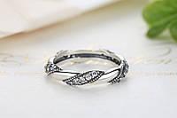 Серебряное кольцо PANDORA -пандора (линия любви)100%КАЧЕСТВО!