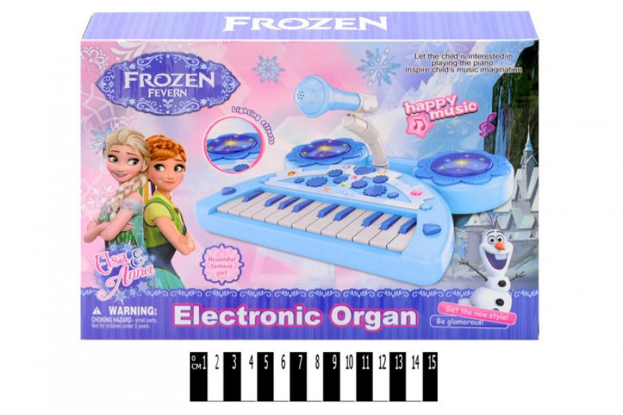 Детское пианино Ельза 901-549, орган, фрозен