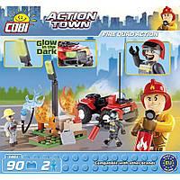Конструктор Пожарный квадроцикл 90 деталей  Cobi (COBI-1461)