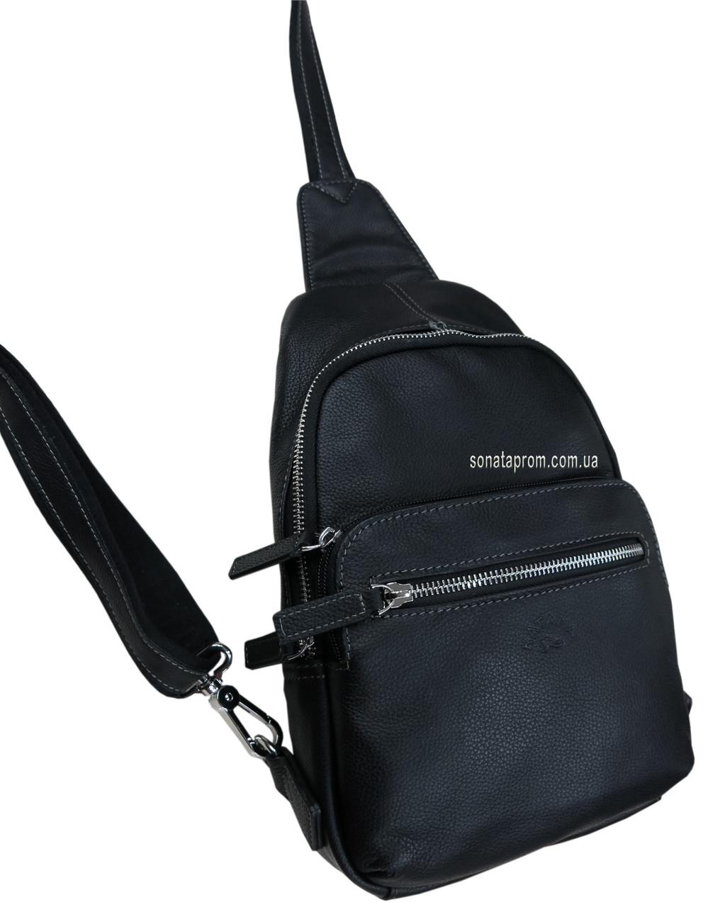 af9e7922f4cd Небольшая кожаная сумка рюкзак через плечо Katana, цена 1 700,10 грн ...