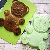Форма для выпечки желтая Fissman Медвежонок, фото 2