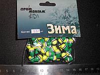 Зимний поплавок пластиковый пачкой 50 штук, фото 1