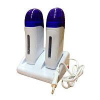 Воскоплав двухкассетный для депиляции YVP-09