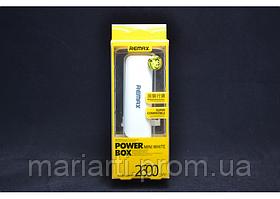 Портативный аккумулятор Remax2600 mAh
