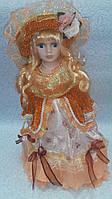 Декоративная кукла на подставке Лиза высота 40  см