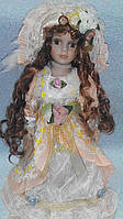 Кукла фарфоровая декоративная Арина высота 42 см
