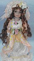 Кукла фарфоровая декоративная Арина высота 42 см, фото 1