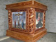 Престолы,Жертвенники,резные из дерева, фото 1
