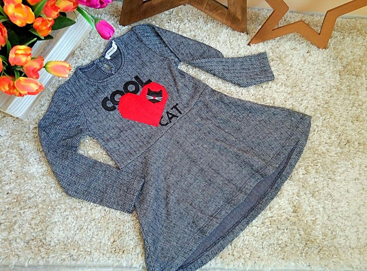 Нарядное платье Турция Оптом и в розницу от фирмы Breeze Cool cat 3-8 лет