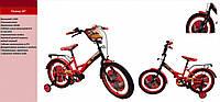 Велосипед детский 18 дюймов Тачки / Молния Маквин