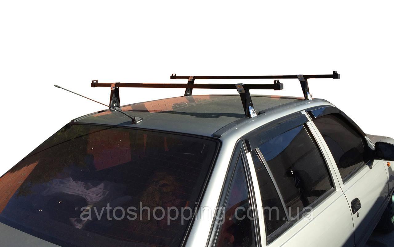 Багажник на крышу Део Нексия, Daewoo Nexia в штатные места на крыше