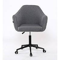 Косметическое кресло HR830KK крестовина пятилучевая (с колесиками)