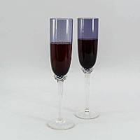 "Набор бокалов Sakura ""Purple"" для шампанского 2 шт"
