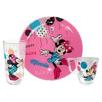 """Набор детской посуды Luminarc """"Disney Party Minnie"""" 3 пр"""