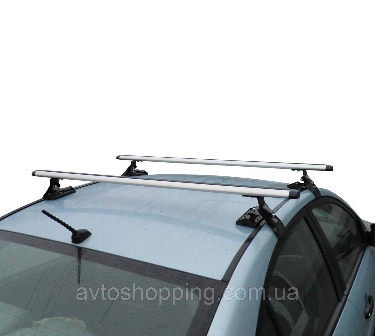 Багажник на крышу Nissan Leaf для авто с гладкой крышей