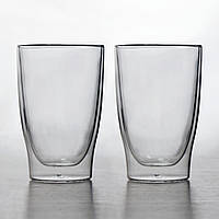 "Набор стаканов Herisson ""Drink"" с двойными стенками 400 мл 2 шт"