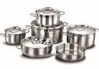 Набор посуды Korkmaz Alfa 11 предметов нержавейка (1641A XL)