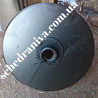 Диск сошника со ступицей сеялка сз однострочный Н 105.03.010-02 ст.65г